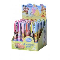 Długopis 4 kolorowy Disney