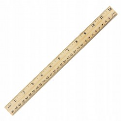 Bambusowa linijka 30 cm