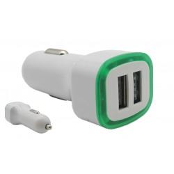 Ładowarka samochodowa charge zasilacz 2x USB 2,1 A