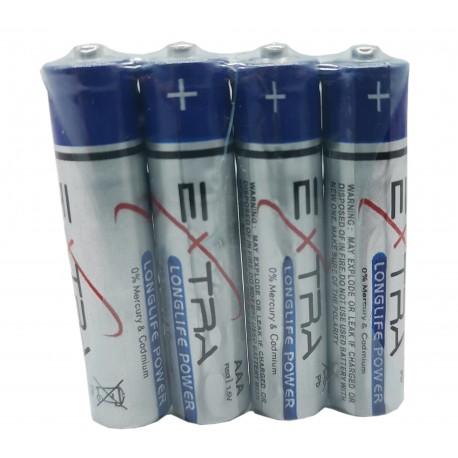 Baterie AAA EXTRA LONGLIFE POWER R3 1.5V, 4 szt.