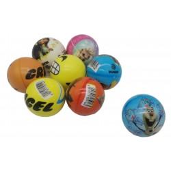 Piłka piłeczka dla dzieci 6 cm różne bajki MIX
