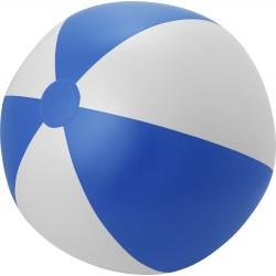 Piłka plażowa dmuchana niebiesko-biała 25 cm
