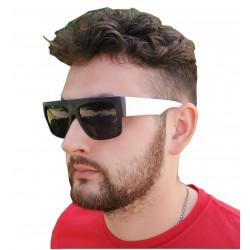Okulary przeciwsłoneczne UV CZARNO-BIAŁE