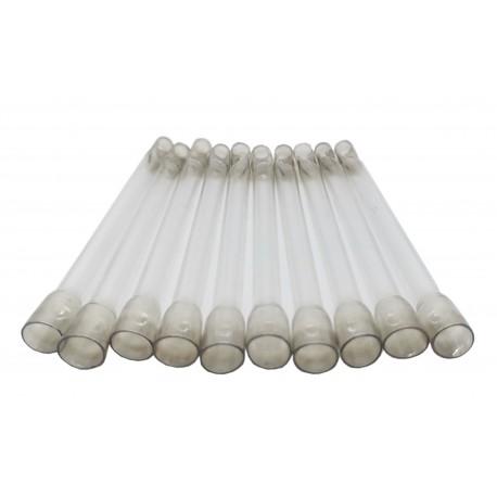 Lufka lufki fifki cygarniczki szklane - 10 sztuk
