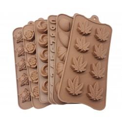 Forma silikonowa czekoladek pralin różne wzory