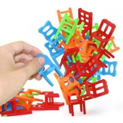 Gra zręcznościowa spadające krzesła 18 krzesełka