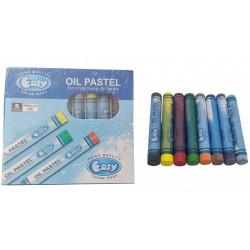 Kredki pastele kolorowe olejne
