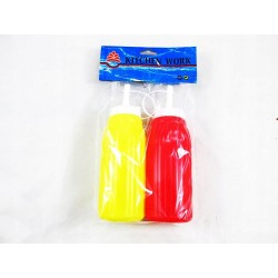 Dyspenser butelki do sosów ketchupu musztard