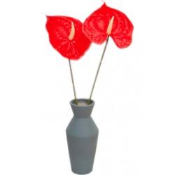 Anturium gałązka 67 cm kwiat sztuczny