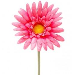 Sztuczny kwiat Gerbera gałązka 44 cm