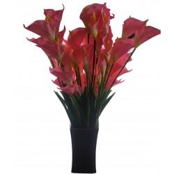 Calla cantedeskia gałązka sztuczna sztuczne kwiaty