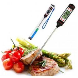 Termometr szpilkowy sonda do mleka mięsa grilla + etui