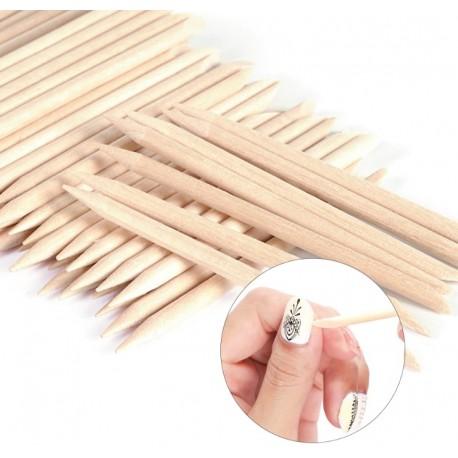 Patyczki do paznokci skórek manicure pedicure 12 sztuk