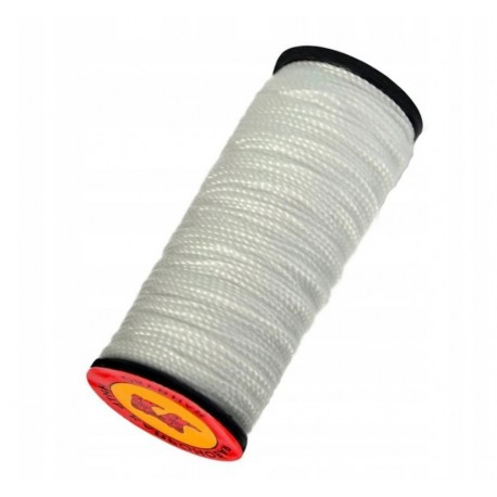 Dratwa nić mocna nylonowa cienka biała sznur