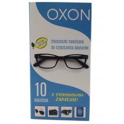 Chusteczki nawilżane do okularów OXON 10 saszetek
