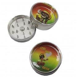 Młynek crusher grinder tytoń zioła konopie MINI