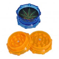 Młynek grinder plastikowy do tytoniu zioła różne kolory