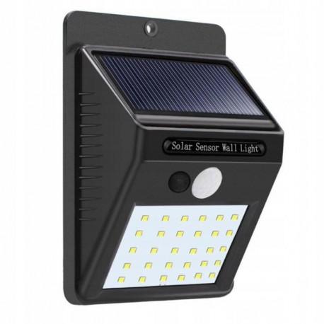 Lampa solarna 30 led z czujnikiem zmierzchu
