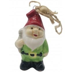 Zawieszka świąteczna na choinkę ozdoba 8cm różne wzory