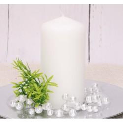 Wianuszek dekoracyjny kremowe perełki 8,5 cm
