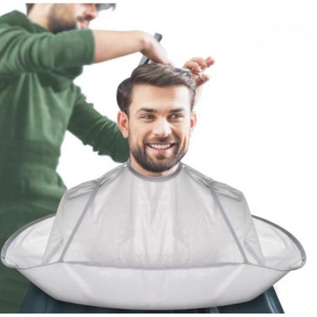Peleryna fryzjerska kołnierz do strzyżenia fartuch