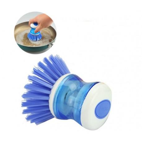 Szczotka do mycia naczyń z dozownikiem PRESS