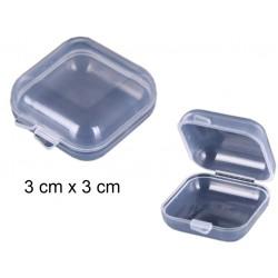 Pudełeczko do przechowywania drobiazgów MINI 3 cm x 3 cm