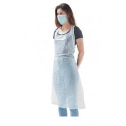 Fartuch foliowy jednorazowy ochronny LDPE 100 szt