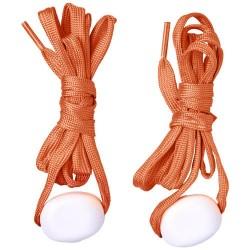 Świecące sznurówki LED Pomarańczowe