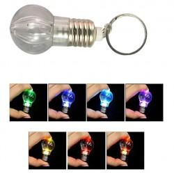 Brelok żarówka LED do kluczy lampka