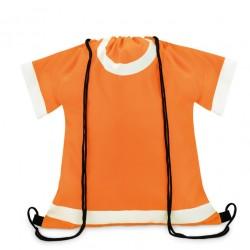 Worek szkolny plecak na buty pomarańczowy