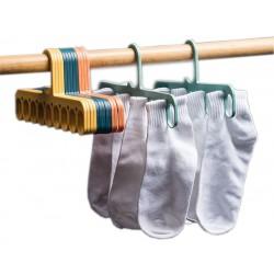 Wieszak na bieliznę skarpetki ubrania wielofunkcyjny
