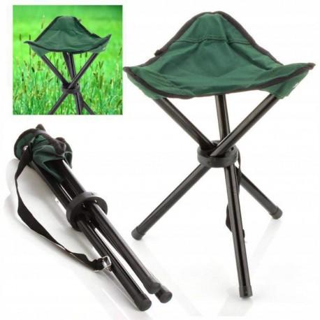 Składane krzesełko turystyczne stołek wędkarski