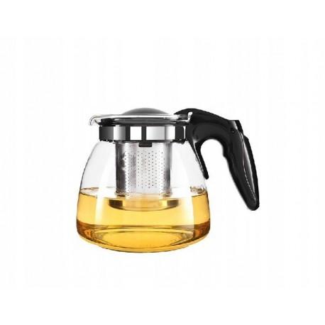 Żaroodporny dzbanek 900 ml zaparzacz kawa herbata