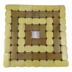 Podkładka podstawka bambusowa pod garnek naczynia
