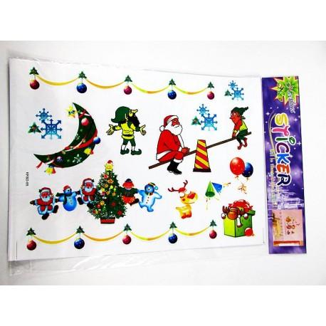 Naklejka świąteczna mix wzorów