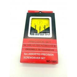Zestaw precyzyjnych śrubokrętów, wkrętaków do GSM, zegarków