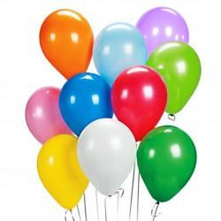 Balony lateksowe kolorowe, pastelowe na urodziny 144 szt.