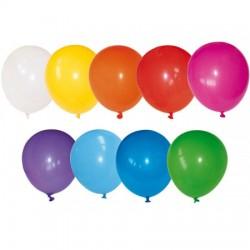 Balony lateksowe kolorowe, pastelowe 100 szt.