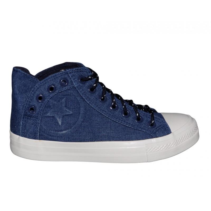 5025496b Trampki damskie jeans blue tenisówki buty sportowe - Ecoverso