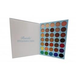 Paleta cieni do makijażu powiek oczu Ruizhi, 35 kolorów
