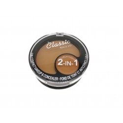 Puder do makijażu Make Up + korektor 2 w 1 Classic