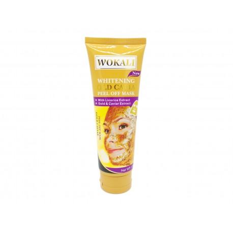 Złota maska Peel-OFF 24k do twarzy Wokali, 130ml