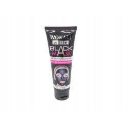 Czarna maska węglowa Peel-OFF do twarzy Wokali, 130ml