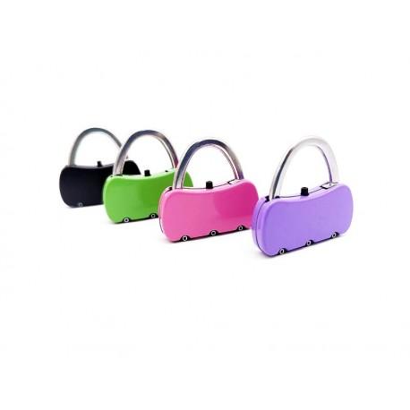 Kłódka do bagażu szafki na szyfr kolorowe