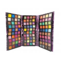 Paleta cieni do makijażu powiek oczu KISS ROSE, 120 barw