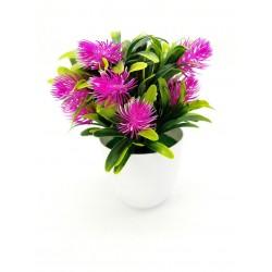 Sztuczny kwiat roślina ozdobna fejka 19 cm.