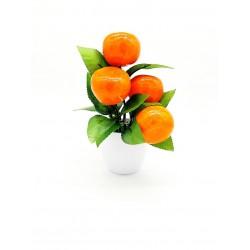 Sztuczne owoce roślina ozdobna fejka 22 cm.