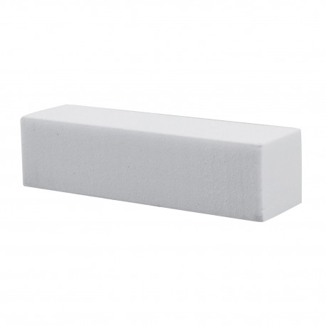 Blok ścierny bloczek polerski czterostronny biały