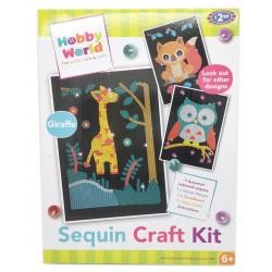 Zestaw kreatywny Sequin Kit Hobby World cekiny